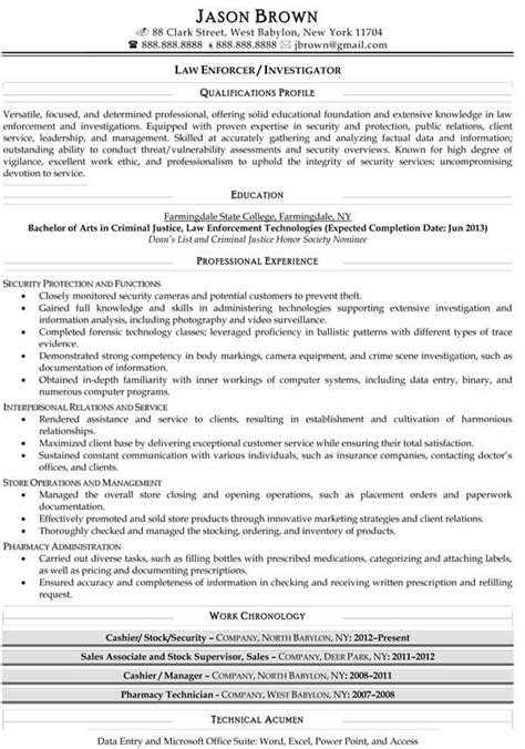 retired officer templates 25 unique officer resume ideas on