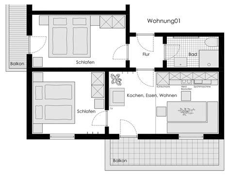 wohnung 60 m2 grundriss wohnung 1 schmiedleshof fiss