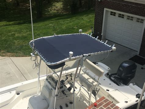 boat t top grommets t top boat covers by concord custom canvas take the sun