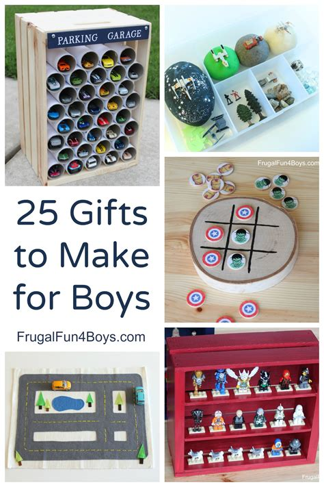 Handmade Gift Ideas For Boys - 25 more gifts to make for boys