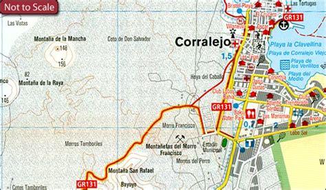 printable road map fuerteventura photo collection map of corralejo fuerteventura