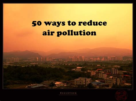 How To Prevent Air Pollution Essay by Essay How To Reduce Air Pollution Docoments Ojazlink
