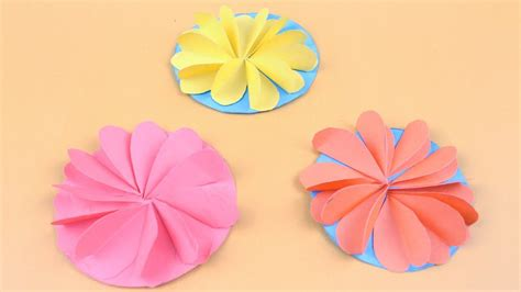 Flower Origami Tutorial - origami flowers easy tutorial how to make origami flowers