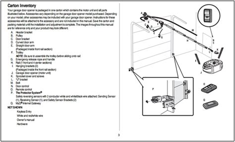 garage door installation manual chamberlain garage door opener installation manual
