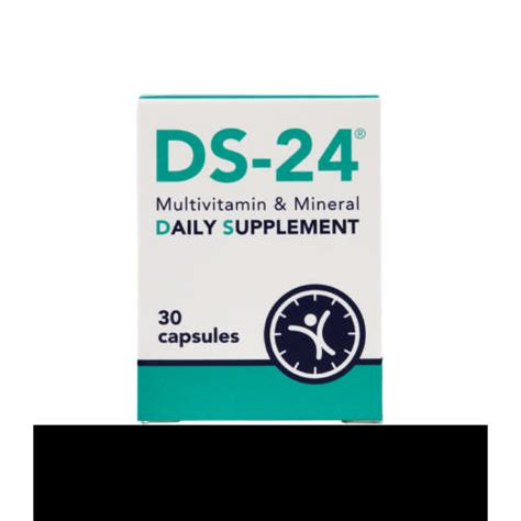 ds 24 multivitamin mineral daily supplement 30 capsules