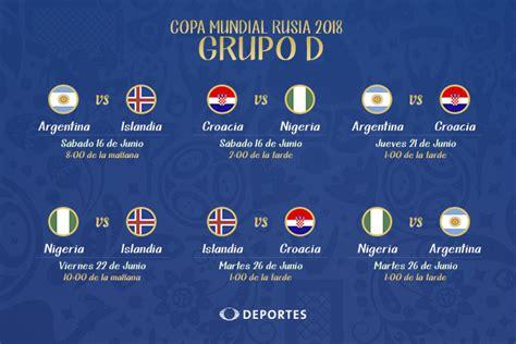 Grupo Argentina Mundial 2018 An 225 Lisis Grupo D Mundial Rusia 2018
