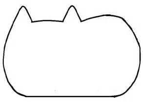 How To Make A Pusheen Cat Plush Tutorial  Hapy Friends Shoppe sketch template