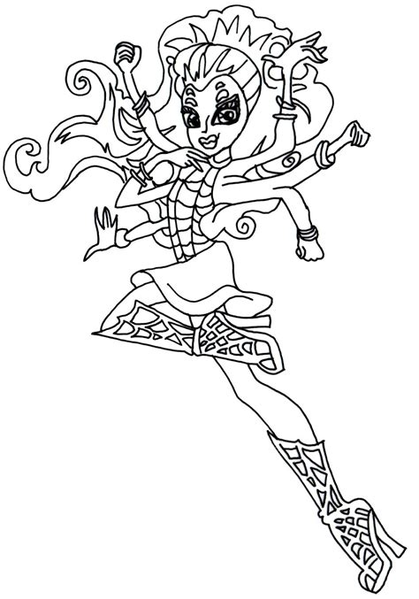 monster high haunted twyla coloring pages monster high coloring pages coloringsuite com