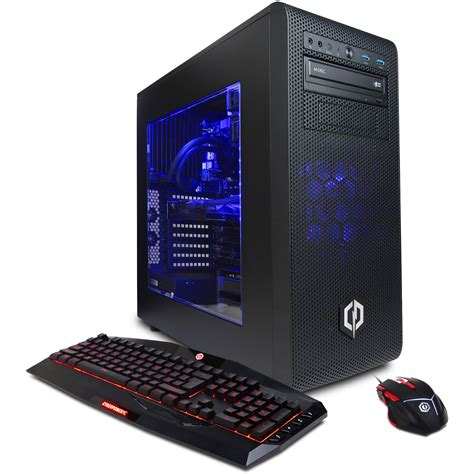 cool computer cyberpowerpc gamer supreme liquid cool desktop computer