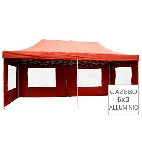 gazebi per fiere gazebo pieghevole professionale in alluminio per fiere 6x3