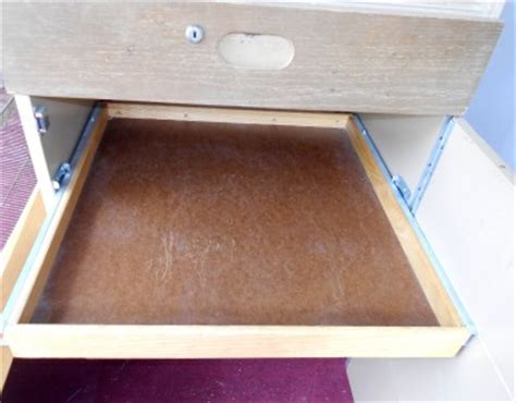 Wood Pull Out Drawers by Vintage Wood 3 Drawer Locker Cabinet Pull Out Shelves