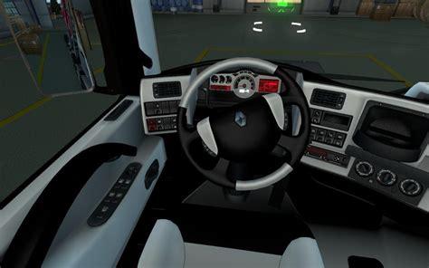 renault truck interior renault magnum black white interior 1 22 187 gamesmods net