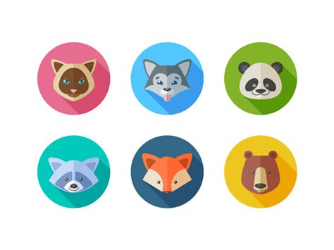 House Builder Game how to create a set of flat animal icons in adobe illustrator