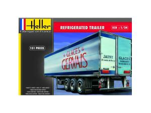 mousse isolante 1854 refrigerated trailer 1 24eme heller 80776 miniplanes