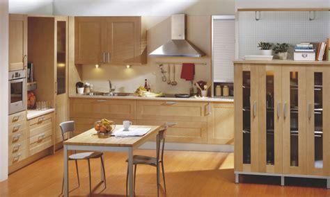 disenos de cocinas integrales de madera modernas