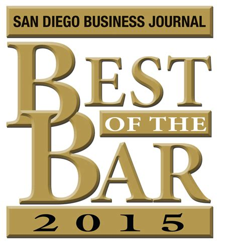 san diego business journal names attorney brian robbins to