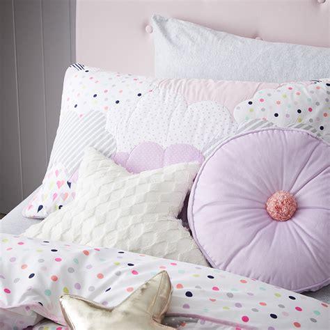 purple coverlets adairs kids purple cloud quilted duvet cover set