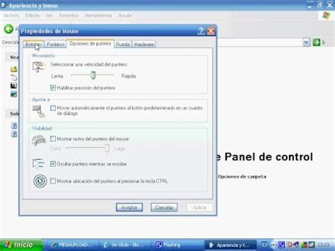 xp tutorial youtube tutorial para cambiar cursores en windows xp youtube