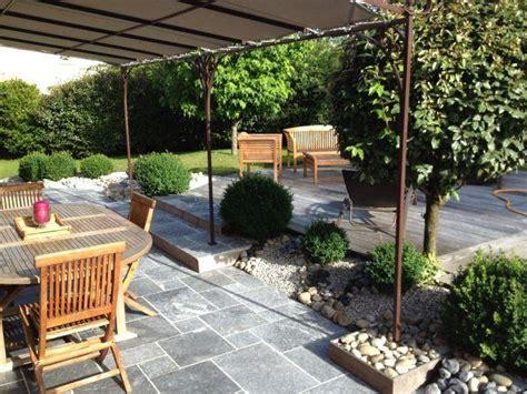backyard cout ideas nivrem com terrasse couverte bois moderne diverses