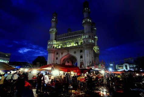 charminar biography in hindi walk around charminar on ramzan nights in hyderabad