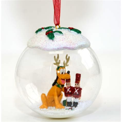 pluto christmas bauble ornament