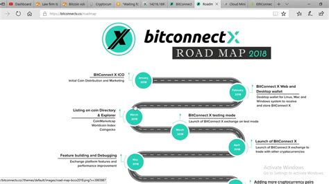 bitconnect roadmap 2018 bitconnectx road map 2018 youtube