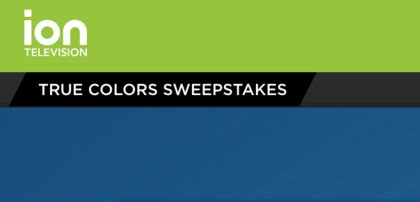 Iontelevision Com Sweepstakes - ion television true colors sweepstakes sun sweeps