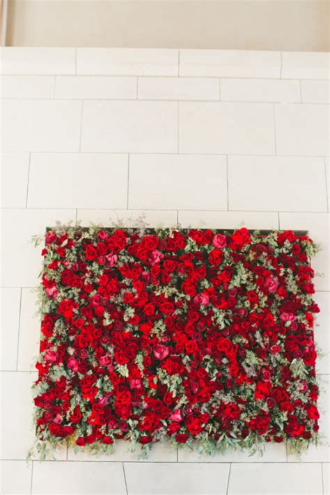 seed floral couture wedding wednesday red wedding decor flirty fleurs the