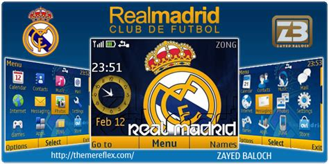 realmadrid themes for nokia c2 search results for themes nokia x2 01 calendar 2015
