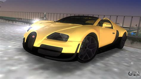 bugatti veyron gta bugatti veyron grand sport vitesse for gta vice city