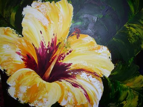 acrylic flower acrylic paintings flowers painting acrylic