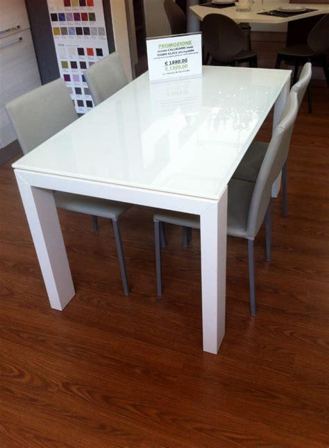 tavolo calligaris prezzo tavolo calligaris sigma glass allungabile tavoli a
