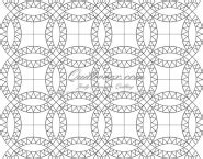 Wedding Ring Quilt Pattern Template