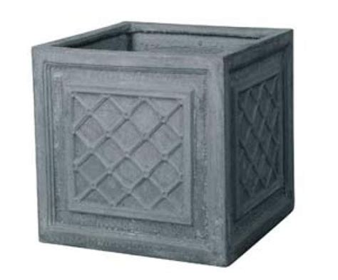Homebase Outdoor Planters by Fibre Clay Square Pot Homebase Outdoor Pots Plant