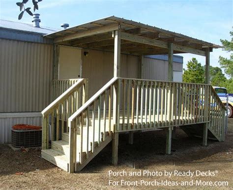 mobile home porch roof ideas studio design gallery