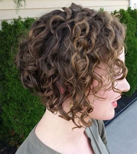angled bob medium curly 2016 curly inverted bob images 2016 cute hairstyles for