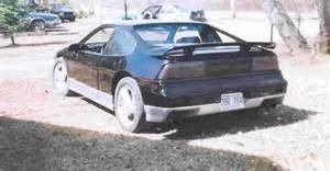 1988 Pontiac Fiero Reviews 1988 Pontiac Fiero Pictures Cargurus