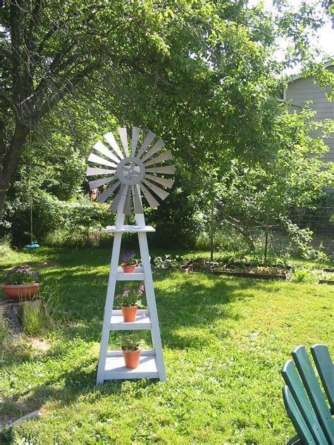 garden windmill  shepherds house