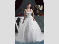 Ball Gown Sweetheart Chapel Train Wedding Dress With 3D ... Jennifer Lopez Wedding Dresses