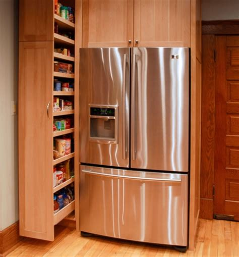 kitchen cabinet space saver ideas smart space saver for the kitchen pull out pantry cabinet has been a plus in staging kitchens