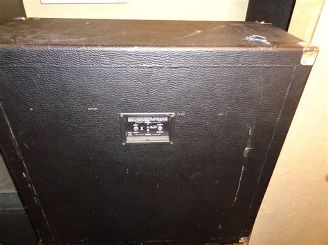 Used Behringer Ultrastack Bg412h 4x12 Quot Guitar Speaker Reverb Behringer 4x12 Guitar Cabinet