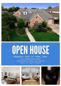 open house template open house flyer template freebest business template