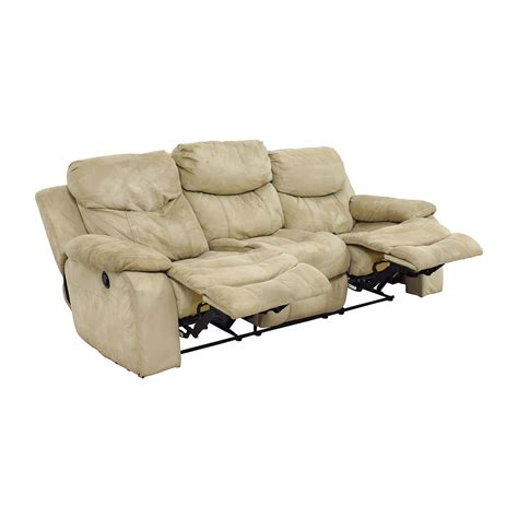 bobs furniture recliners 90 off bob s furniture bob s furniture beige dual