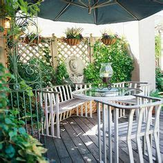 outdoor ideas on privacy deck decks and