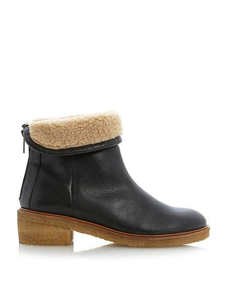 bertie shoes house of fraser bertie purley crepe sole ankle boots house of fraser