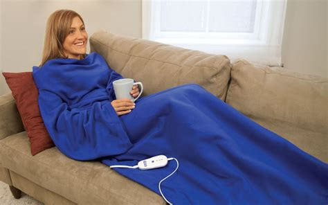 As Seen On Tv Blankets by Ion Coz E Heated Blanket With Sleeves As Seen On Tv