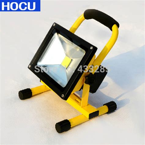 Rechargeable Outdoor Lighting Aliexpress Buy 10w 20w 30w Charging Led Flood Light Rechargeable Chargeable Charge Battery