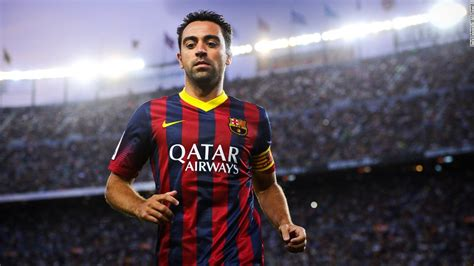 barcelona xavi xavi hernandez calls time on barcelona career cnn com