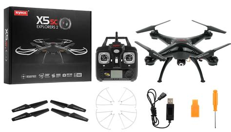 Syma X5sc Quadcopter Drone Dgn syma drone x5sc explorers 4 channel 6 axis quadcopter drone ready to fly 2 4ghz w hd