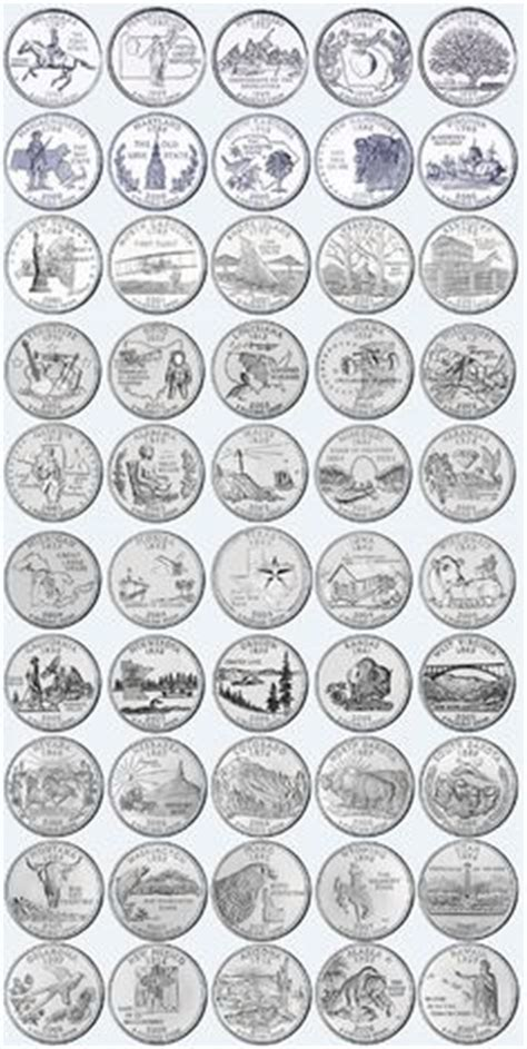 printable quarter collector 1000 images about coins on pinterest 50 states